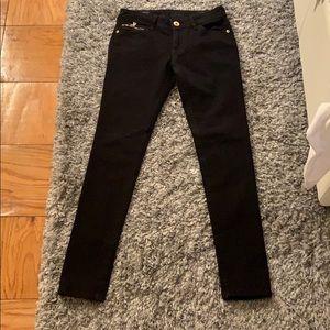 DL1961 size 26 black skinny jeans
